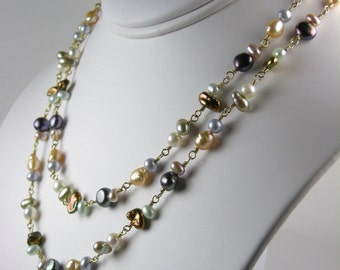We Are One Two-Freshwater Pearl Necklace