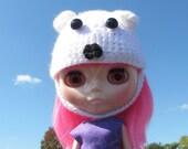 Blythe Polar Bear Hat