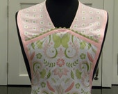 LAST ONE-Butterfly Vintage Style Apron