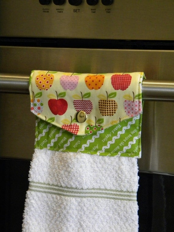 Add A Matching Hang-It-Up Kitchen Towel To Any Apron Order
