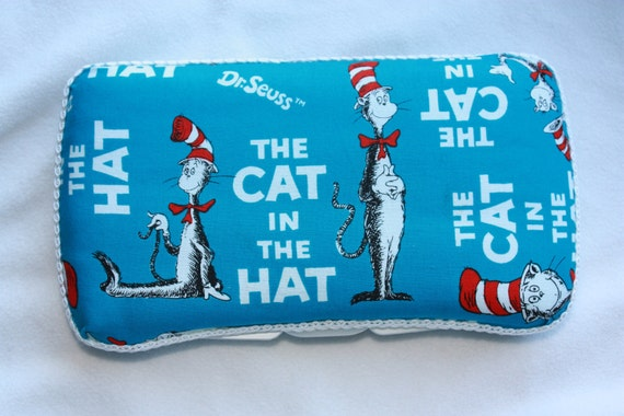 SALE Cat in the Hat Boutique Baby Wipe Case