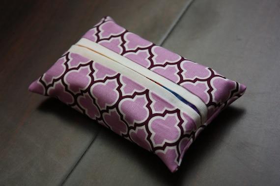 Pretty Purple Tissue Holder