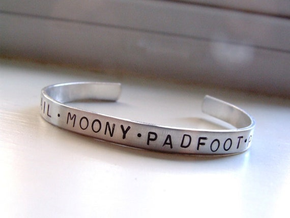 Wormtail Moony Padfoot Prongs bracelet