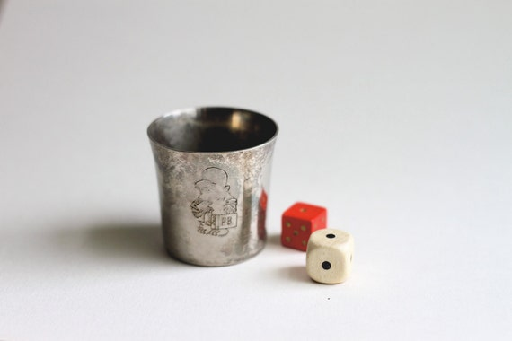 1979 Paddington Bear Small Silver Plated Cup