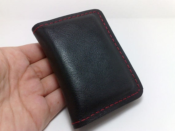 Personalized fathers gifts wallet from leather handcrafted card holder/ wallet /business cards/ cash with coin purse,personalized for dad