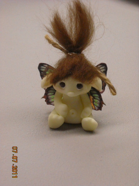 Custom Order For A Tiny Fairie, Troll, Or Dragon Pendant Or Sculpture (Made to Order)