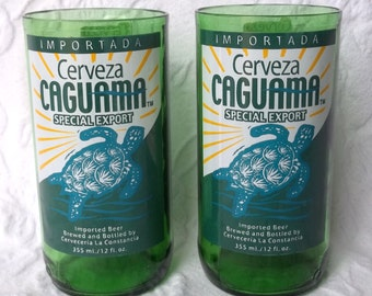 Cerveza Caguama Juice glasses (2)