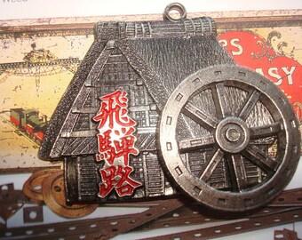 Steampunk medallion