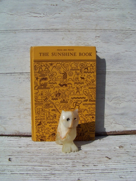 The Sunshine Book, Prose and Poetry, 1946 edition, early Texas textbook, primer on Etsy