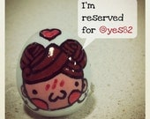 Chestnut Girl in Love Ring (reserved for Yes82)