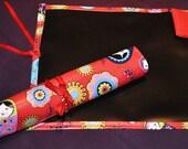 Custom Order of 2 Russian Doll Chalkcloth Mats