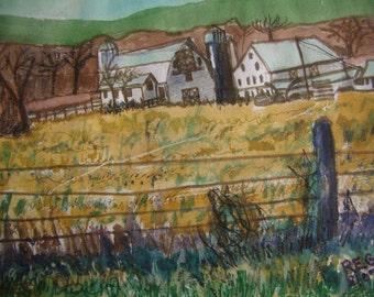 Farmhouse Landscape