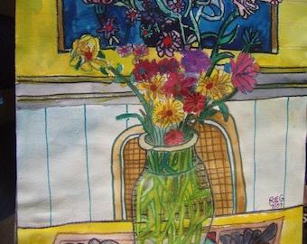 Still Life Study of Flowers no.1
