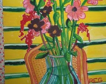 Still Life Study Of Flowers 6