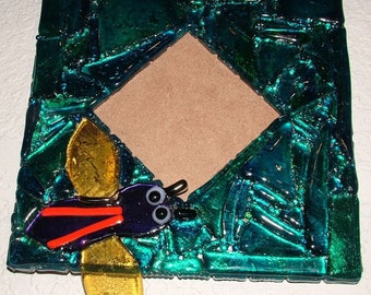Picture Frame - Fused Stained Glass Mosaic