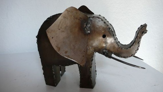 Curtis Jere Style Welded Elephant