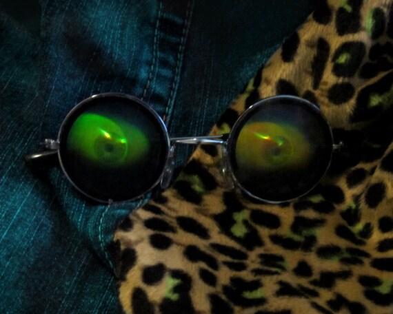 10% OFF Vintage 90s Hologram Sunglasses