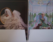 Annie's Attic Calendar Cotillion 1992 Fashion Bed Doll Set Crochet 13 Patterns January-December plus bride pattern