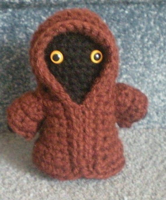 Jawa Star Wars Amigurumi : Made to order Hand crocheted Star Wars Jawa Amigurumi by ...