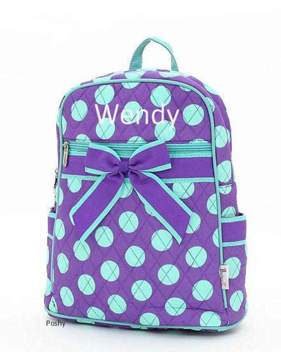 personalized preschool backpacks kids items similar to personalized backpacks in purple 352
