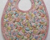 Infant Boy's or Girl's Easter Eggs Waterproof Bib-Free Gift Wrap