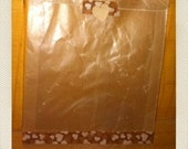 "Brown wax paper bags   Qty 20  7.8"" x6""x1"""