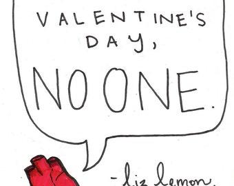 liz lemon valentine