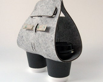 """Objectify """"Tota"""" Coffee Cup Carrier"""