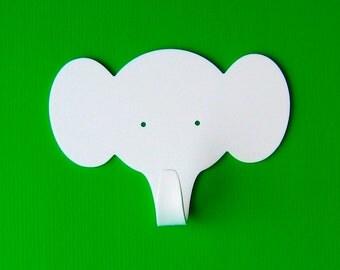 Set of 3 Objectify Elephant Wall Hooks