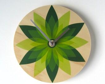 Objectify Leaf Wall Clock