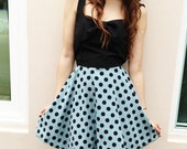 Today Promotion shock price 18 From 39 Polka dot dress pastel blue