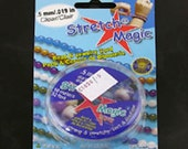 Stretch Magic Clear Beading Cord, .5mm, 1 Roll of 32 feet, C1050/.5