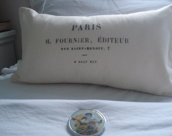 French address extra large Breakfast Pillow Treasury list featured item