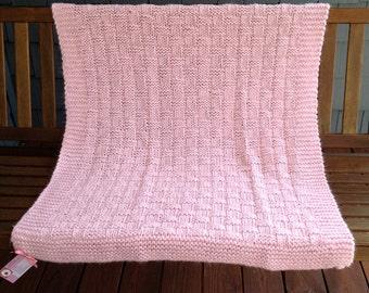 Baby Basketweave Blanket