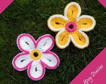 Crochet Pattern: Upsy Daisy