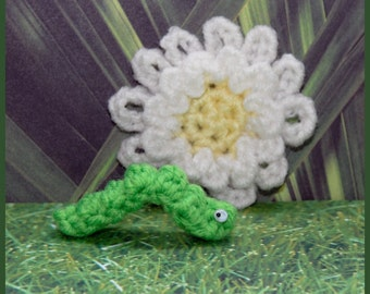 Crochet Pattern: Amigurumi Caterpillar, Bobbles AND Bonus Patterns
