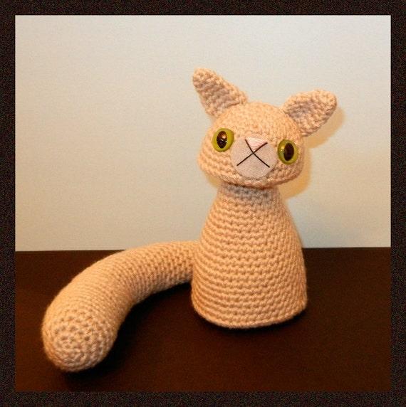 Crochet Amigurumi Kitty : Crochet Pattern: Amigurumi Cat Gritty Kitty by Yarnington ...