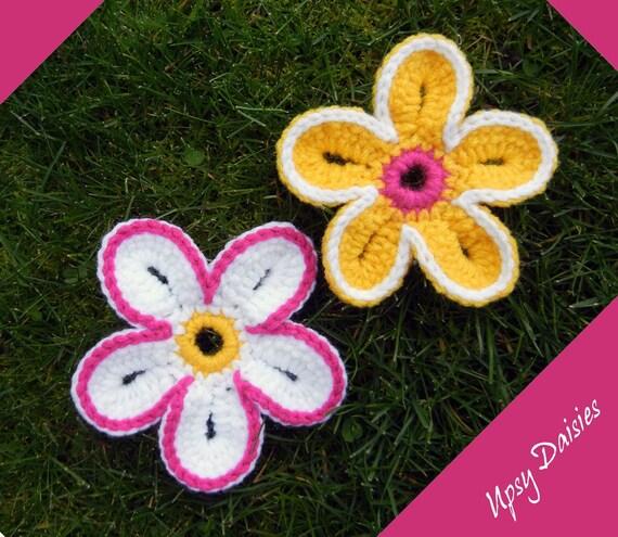 Knitting Pattern For Upsy Daisy : Crochet Pattern: Upsy Daisy