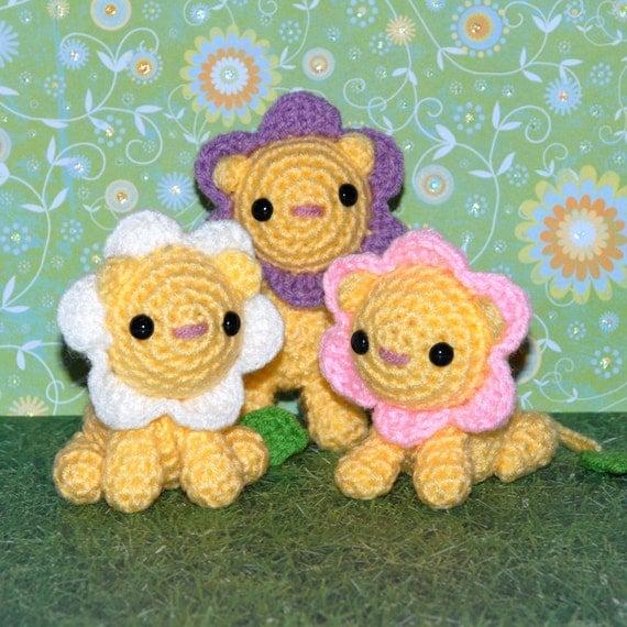 Crochet Pattern: Amigurumi, Dandy Lion Pride