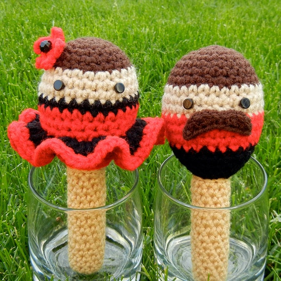 Amigurumi Easy Patterns Free : Crochet Pattern: Amigurumi Rattle Fiesta Maracas