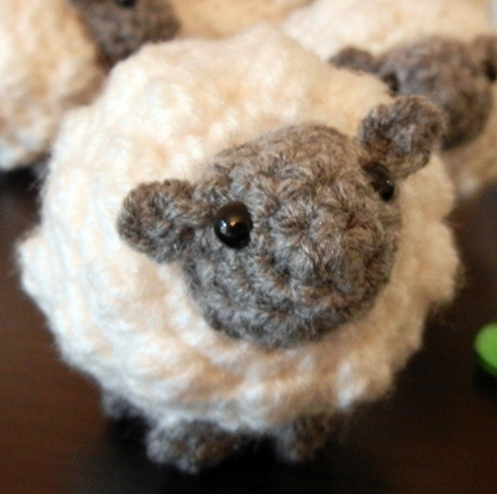 Crochet Pattern: Amigurumi Sheep Little Sheepy Who by ...