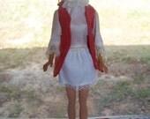 Vintage BARBIE 1962 Mattel Straight Legs 1968 mark on her as well