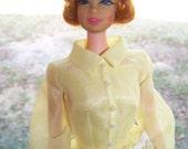 Vintage 1966 Barbie Doll Mattell Made in Japan PAT PENDING