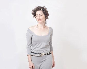 Women Black Elastic Lace Belt