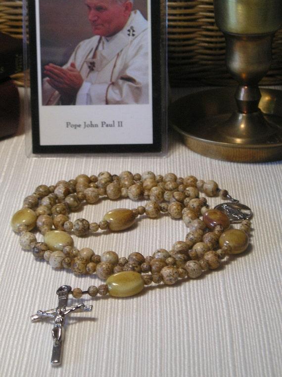 Catholic Rosary Blessed Pope John Paul II