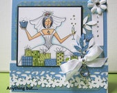 WEDDING SHOWER Digital Stamp Art