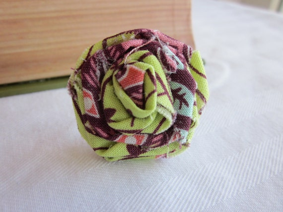 Fabric Rosette Ring Amy Butler Fabric