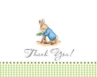 Peter Rabbit Thank you Notecards