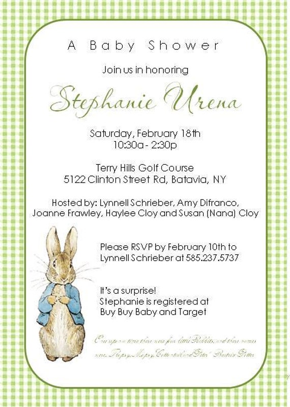 Peter Rabbit Birthday Invitations is one of our best ideas you might choose for invitation design