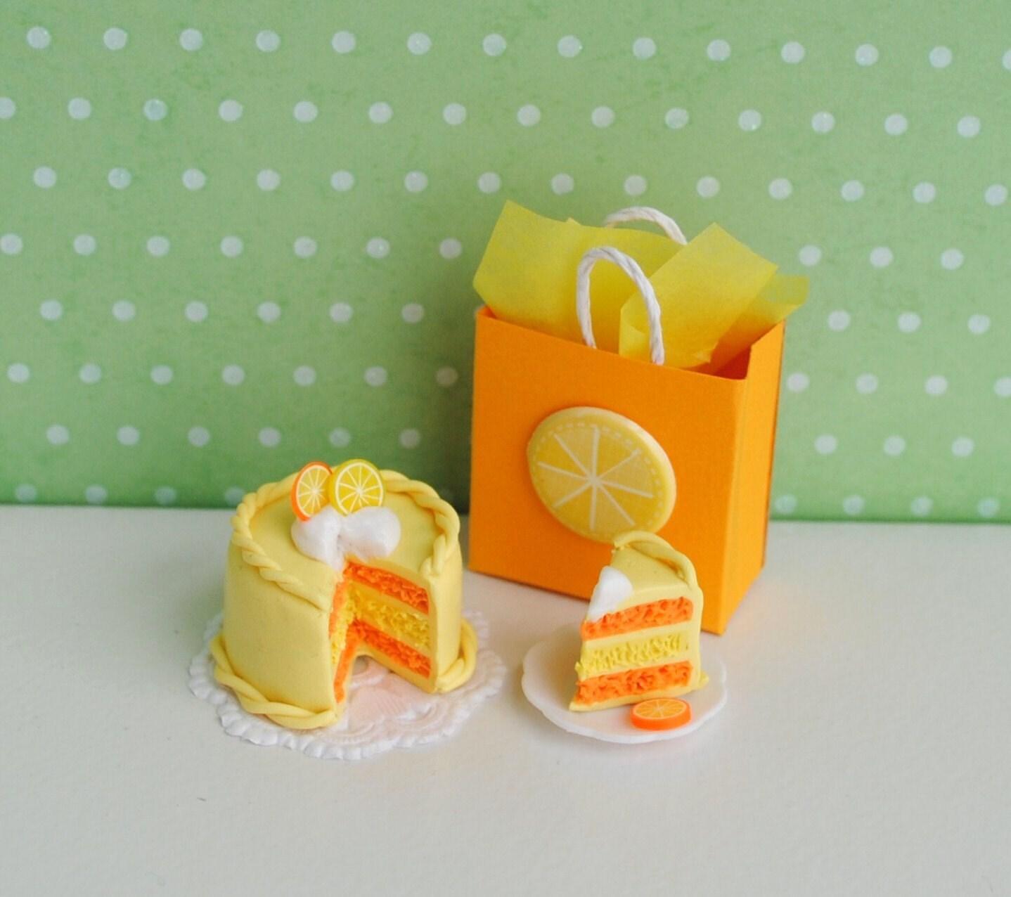 Miniature Lemon Orange Cake